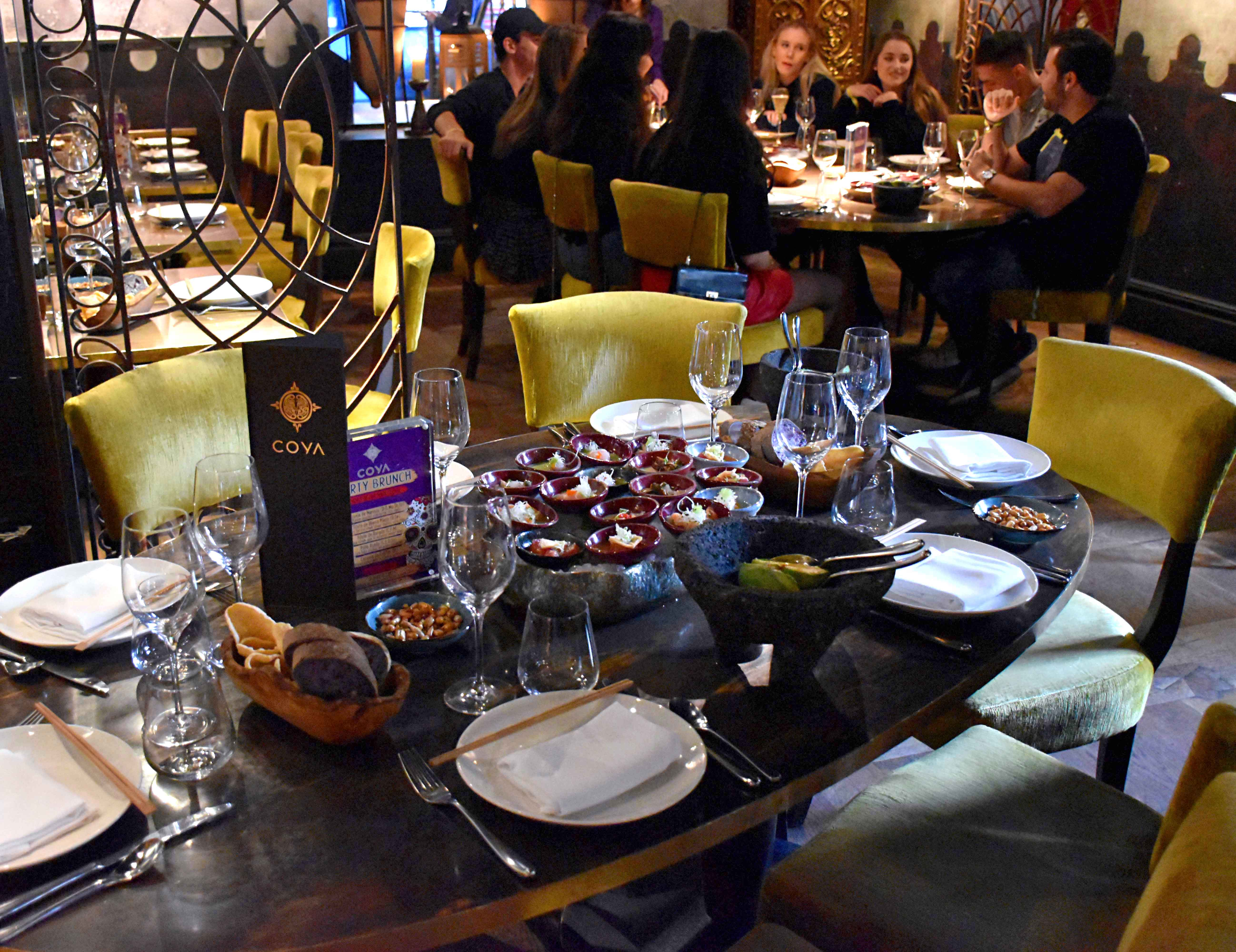 Coya Mayfair Party Brunch Review: A Luxurious 4 Hour Peruvian Brunch Experience | The Foodaholic