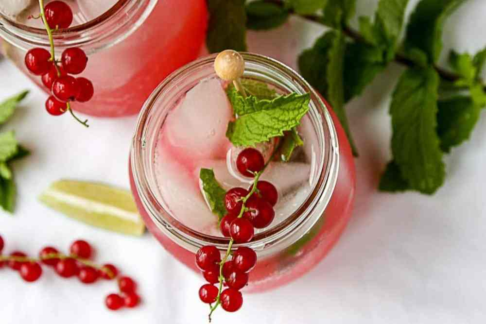 Red Currant Mohito