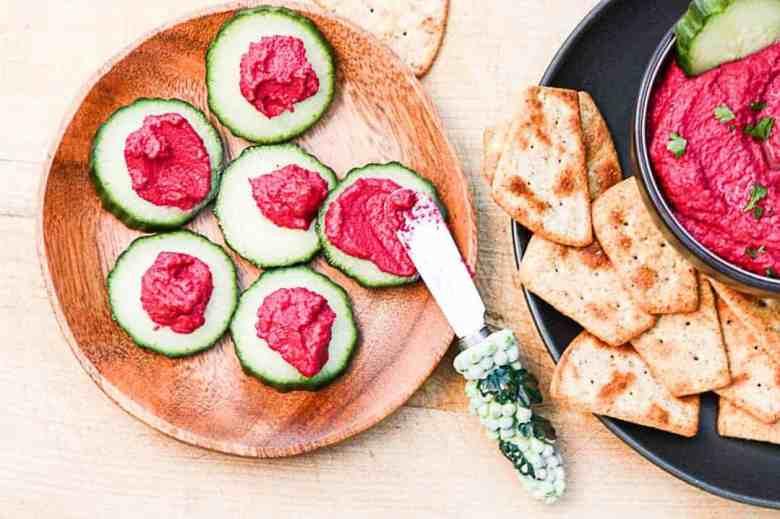 Roasted Beet Hummus-5