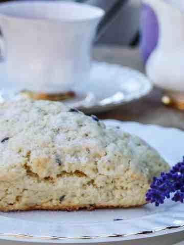 Lavender Scones