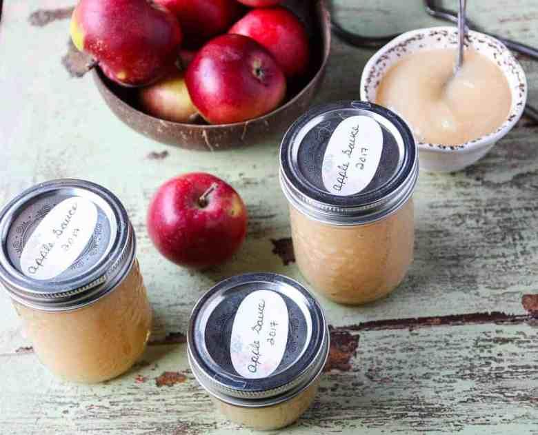 Easy Homemade Applesauce