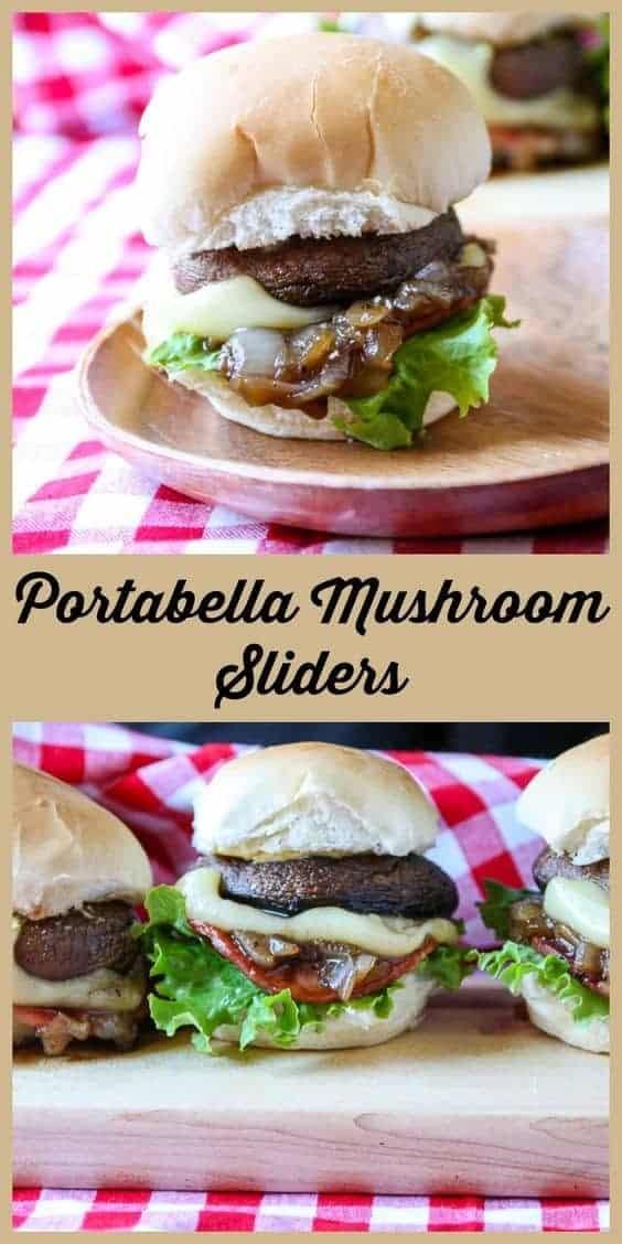 Portobello Mushroom Sliders