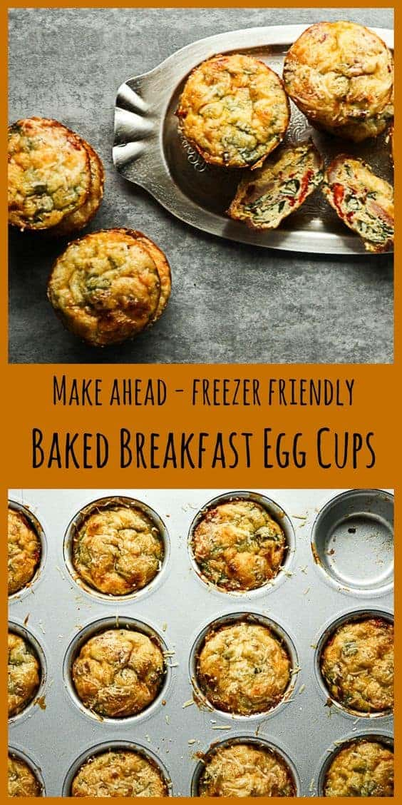 Baked Breakfast Egg Cups