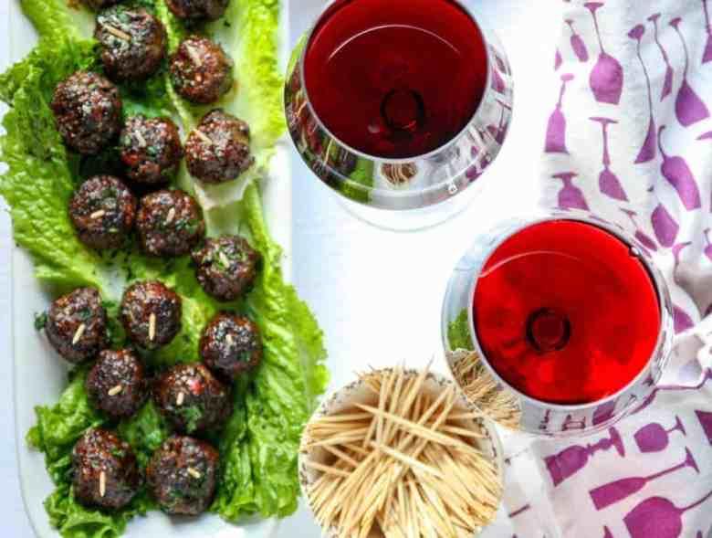 Merlot Meatball Appetizers