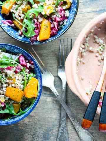 Buckwheat Squash Salad