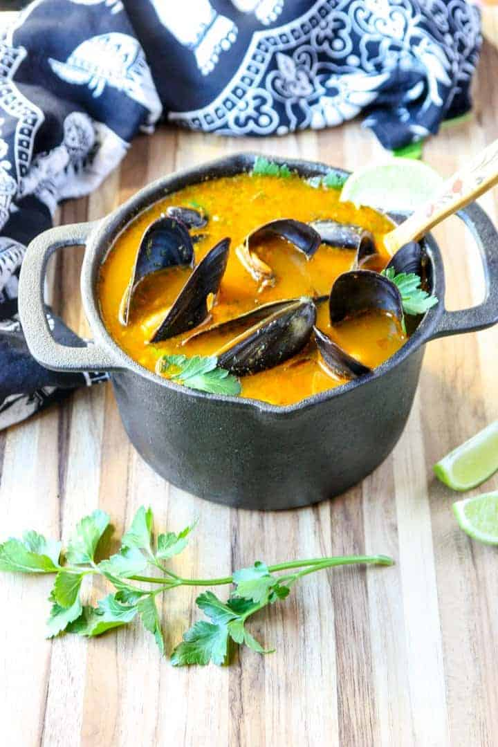 Mussels, Thai Style