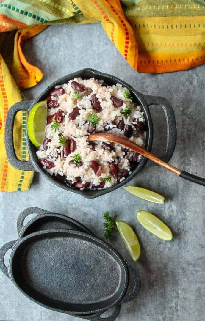 Jamaican Rice & Red Beans