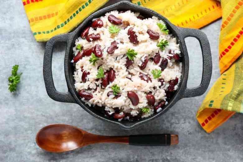 Coconut Rice & Beans