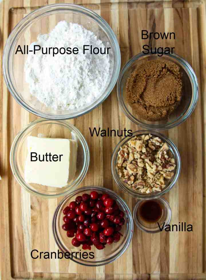 Ingredients for this recipe.