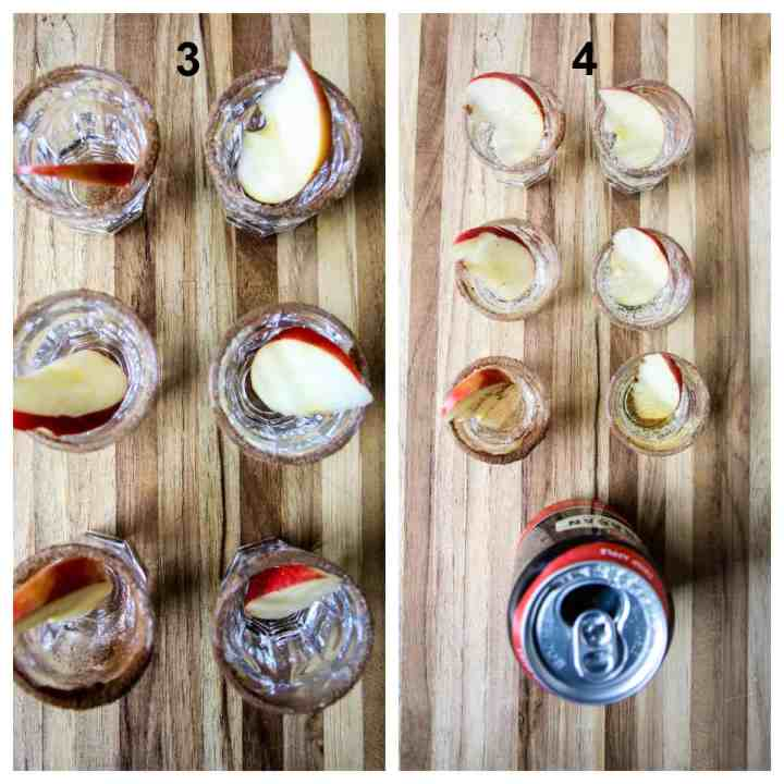 Steps three and four to make this recipe.