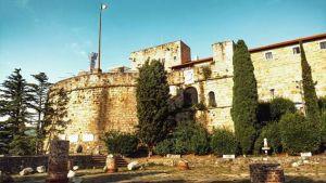 La stupenda location , il Bastione Fiorito