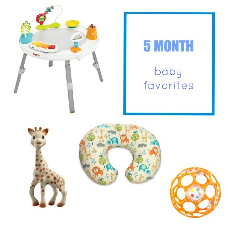5-month-baby-favorites