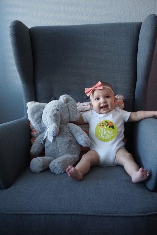 Lavinia Grace: 5 Months Old