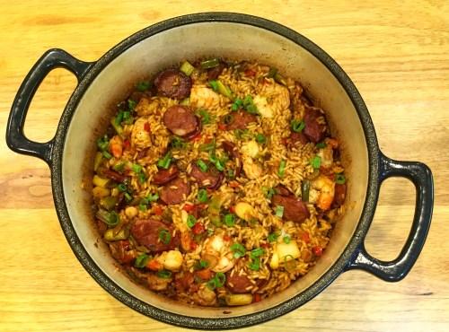 *Recipe* – Cajun Jambalaya
