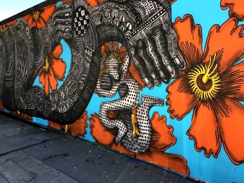 Santa Barbara & The Funk Zone wall