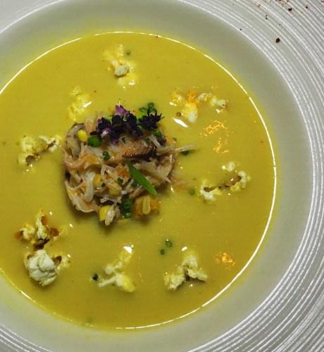 Ponsaty's Summer Corn Veloute