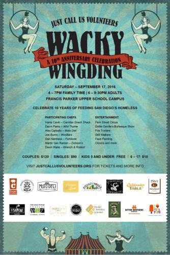 Just Call Us Volunteers Wacky WingDing