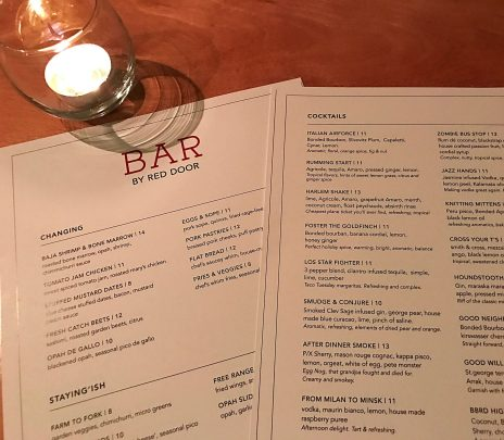 Bar by Red Door – A Transformative Experience