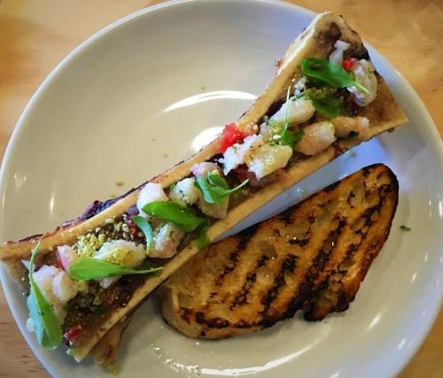 608 restaurant oceanside bone marrow