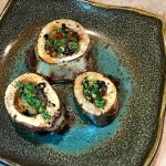 bone marrow recipe with chimichurri sauce