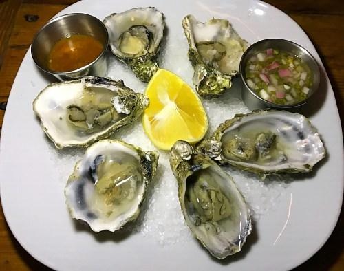 Garden Kitchen Oysters