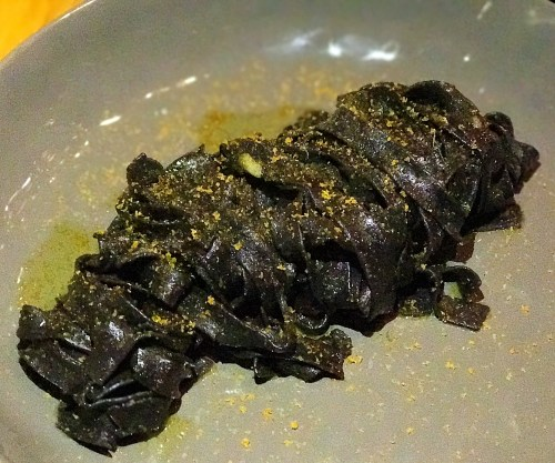 Biga Squid Ink Pasta