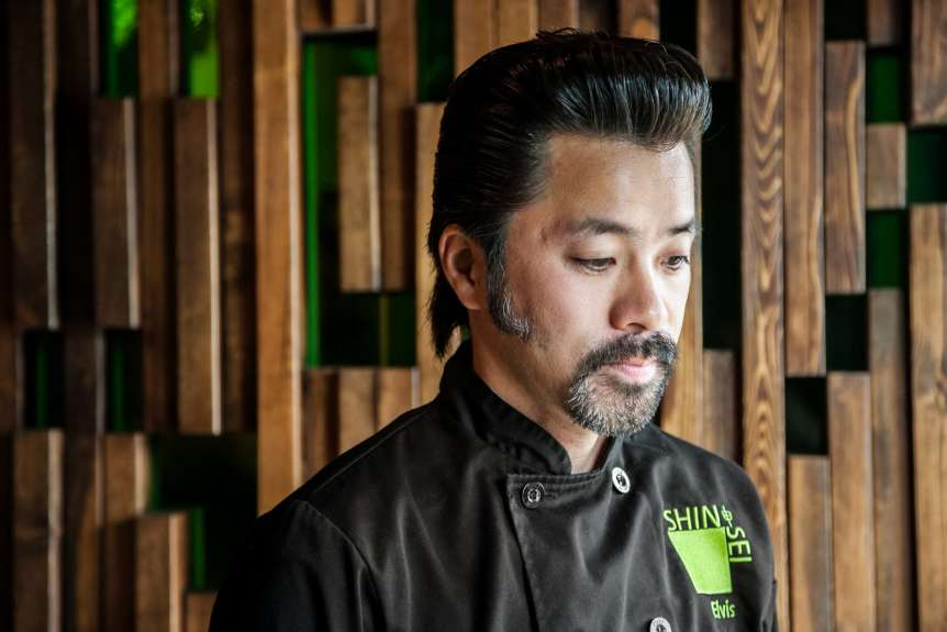 SHIN SEI Elvis, commercial food, food photography, advertising, restaurant, editorial, cookbooks, cook books, table top, food styling, prop styling, lifestyle, interior photography, chef portraits, celebrity chef portraits, portrait photography