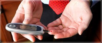 testing blood sugar levels