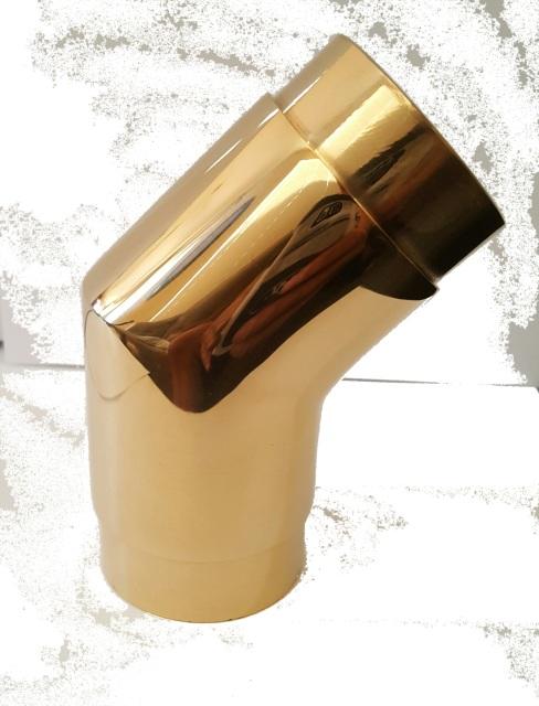 2 OD Brass Flush 135 degree Elbow Fitting