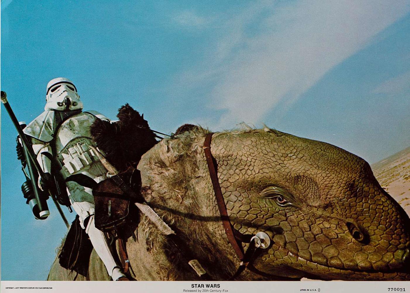 star wars zoology dewback