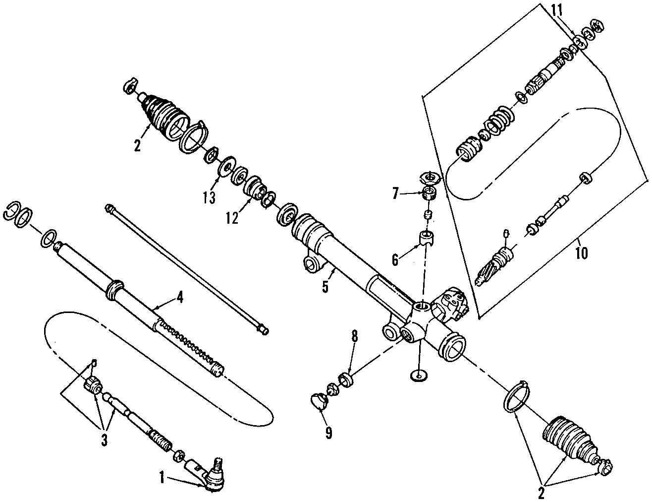 Mercury Sable Pump Assembly