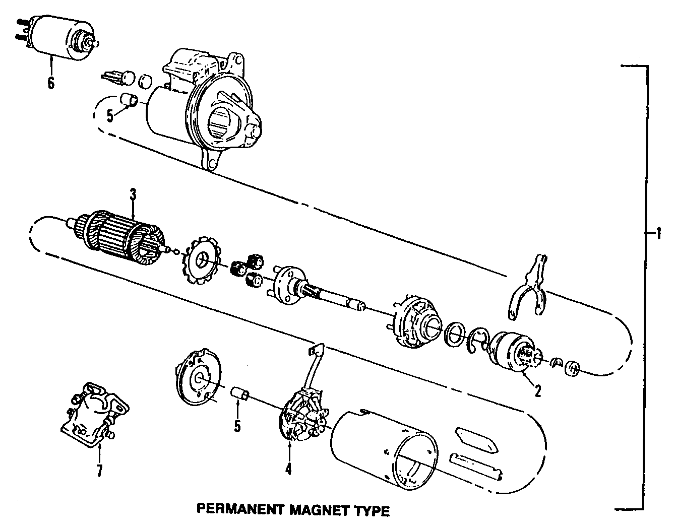 Mercury Grand Marquis Starter Solenoid. Pick, Engine, Mark