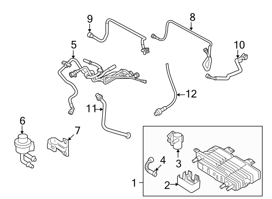 Ford Fusion Oxygen Sensor (Front, Upper). EMISSION, LITER