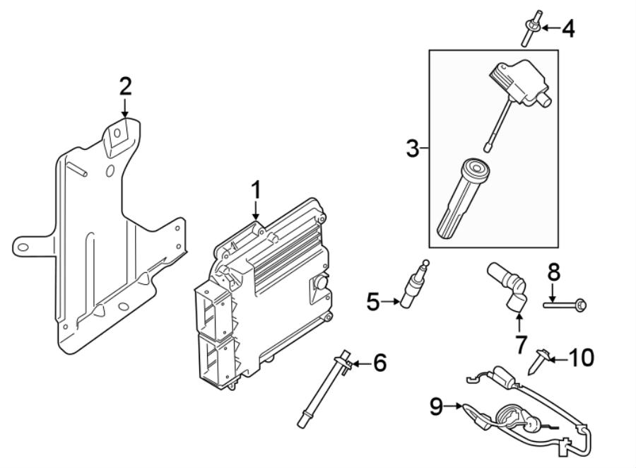 Lincoln Continental Ignition Knock (Detonation) Sensor