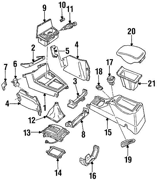Ford E-350 Econoline Club Wagon Mirror. Lever. Switch