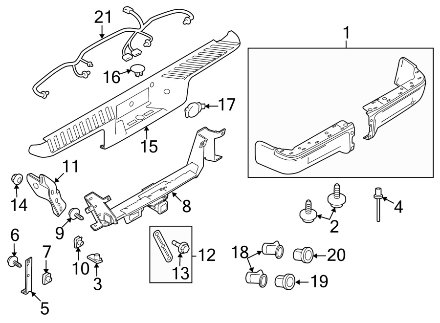Ford F-150 Trailer Tow Harness. Trailer connector