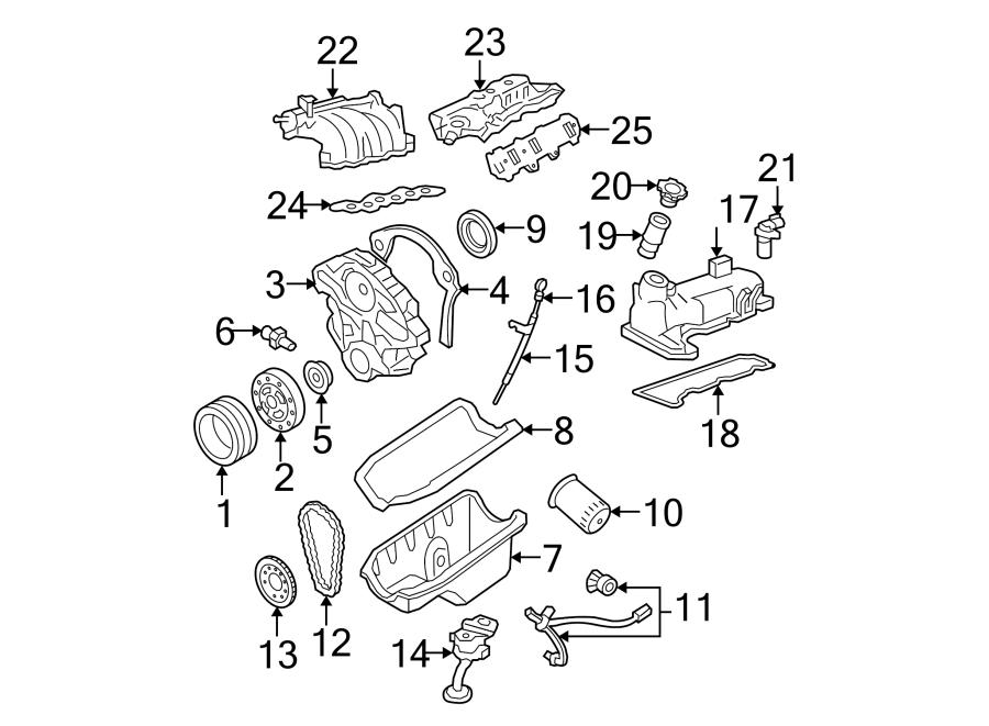 Ford Ranger Camshaft. Gear. Timing. Engine. Sprocket
