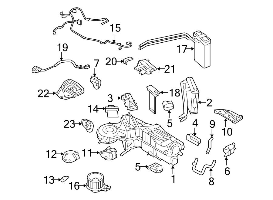 Ford F-250 Super Duty A/c evaporator temperature sensor