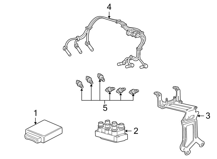Mercury Mountaineer Spark Plug Wire Set. Ignition, LITER