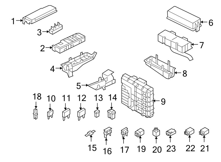Mercury Mariner Fuse. Amp, Compartment, ENGINE