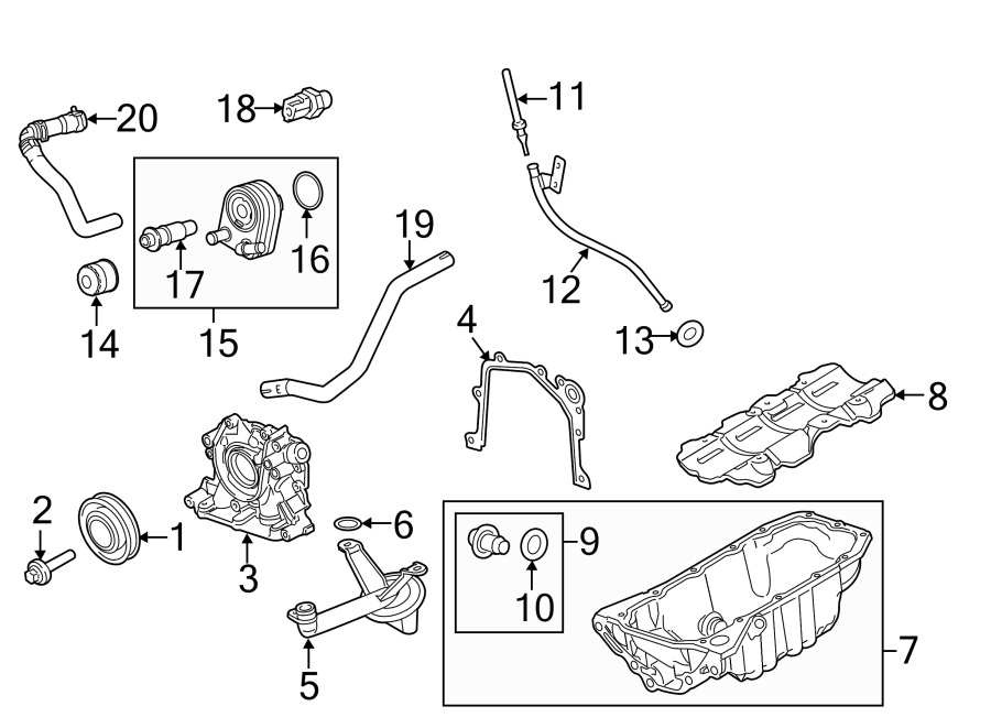 Ford Fiesta Engine Coolant Hose. 1.6 LITER NON TURBO