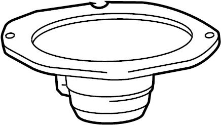 Mercury Grand Marquis Speaker (Front, Rear). Sound, Door