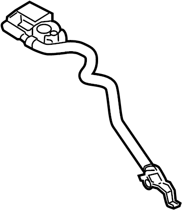 Ford Focus Battery. Sensor. Management. Cable