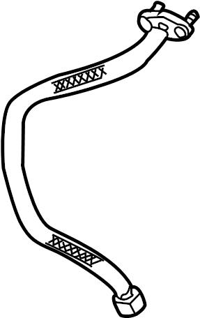 Mercury Sable Egr tube. Dohc, emission, liter