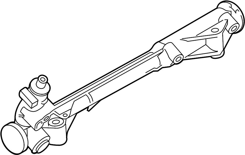 Ford Taurus Rack and Pinion Assembly. Steering, Gear, Make