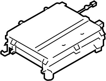 Ford Police Interceptor Utility Drive Motor Battery Pack