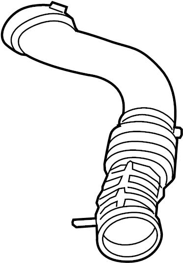 Ford Fusion Engine Air Intake Hose. 1.6 LITER. Inlet