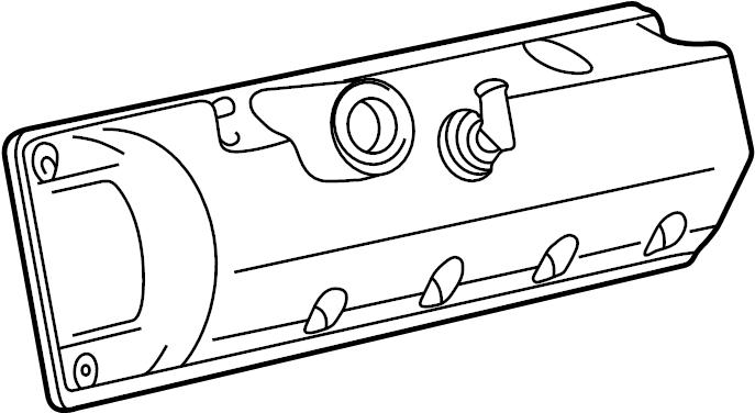 Mercury Grand Marquis Engine Valve Cover. Left, LITER