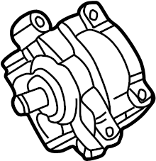 Lincoln LS Hydraulic Unit. Pump Assembly. Hydraulic Pump