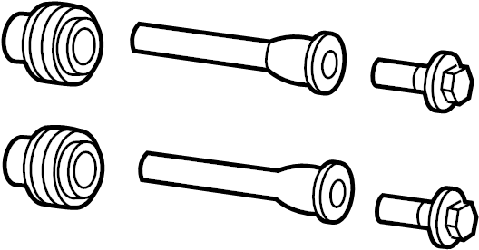 Ford Explorer Caliper. Kit. Pin. Mount. Brakes, Brake